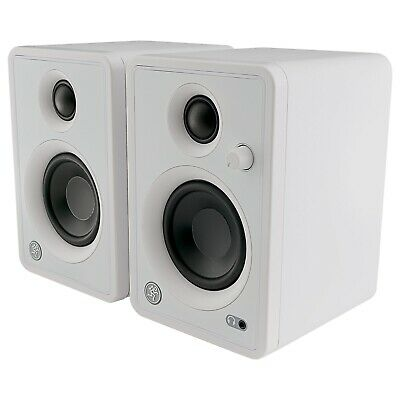 $129.99 • Buy Mackie CR3-XBT Limited Edition Bluetooth 3  White Studio Monitor Speakers Pair