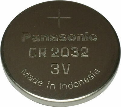 £1.10 • Buy Panasonic CR2032 Lithium Coin Cell 3V Battery Car Key Fobs Toys Remote Batteries