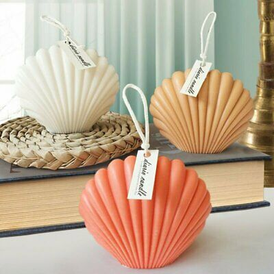 £5.99 • Buy 3D Candle Mould Aromatherapy Seashell Shell Candle Mold Headmade Soap