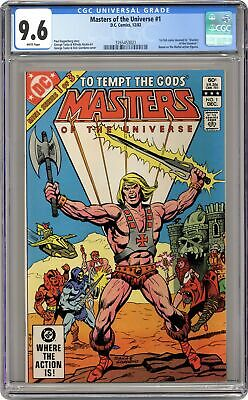 $335 • Buy Masters Of The Universe #1 CGC 9.6 1982 3765453021