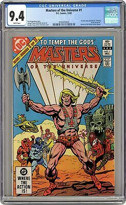 $220 • Buy Masters Of The Universe #1 CGC 9.4 1982 3765453022