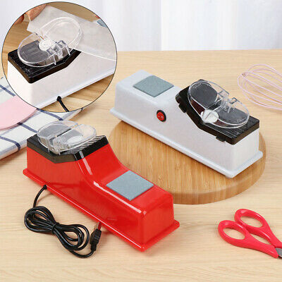 $ CDN15.31 • Buy Tool Automatic Sharpening Stone USB Knives Whetstone Electric Knife Sharpener