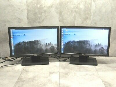 $66.39 • Buy 2 LOT - Dell E1910Hc 19  Widescreen LCD Computer Monitor 1440x900 Display