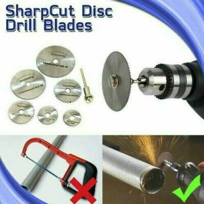 AU10.02 • Buy Disc Drill Blades And Mandrel (6pcs Set) RO