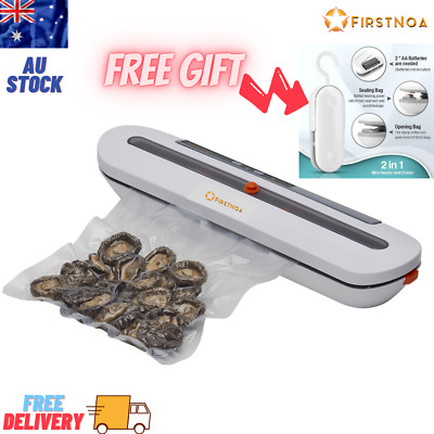 AU35.97 • Buy Automatic Vacuum Sealer Food Packing Machine With 10 PCS Vaccum Food Bags & Gift