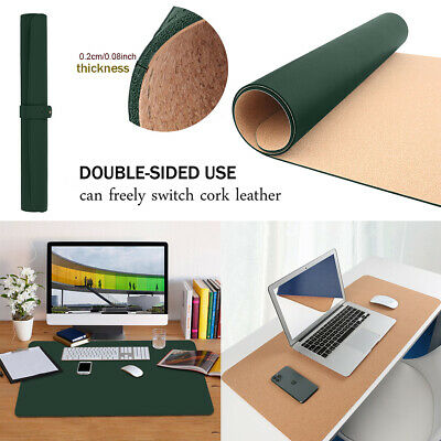 £18.99 • Buy Office Writing Desk Pad Protector Mouse Pad Non-slip Waterproof Leather Desk Mat