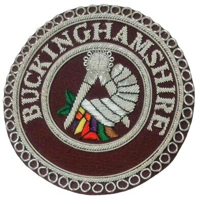 £11.95 • Buy Craft Provincial Stewards Apron Badge - ANY PROVINCE - Finest Quality - UK MADE