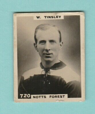 £2.75 • Buy Football - Phillips Pinnace - Card No. 720 -  Tinsley  Of  Notts  Forest -  1922