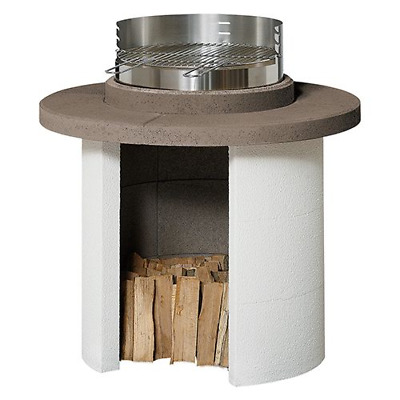 £556.80 • Buy Mercury Brick Barbecue In Refractory Cement 102x102x103,7 Cm With Grill