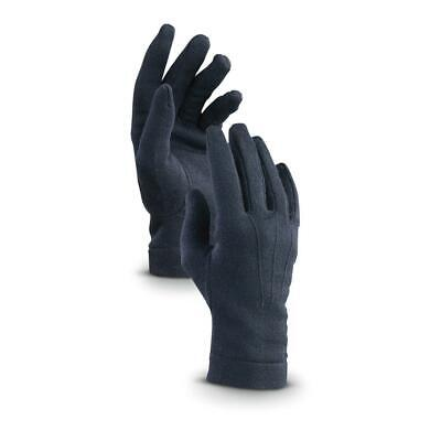 $9.99 • Buy Italian Dress Gloves, Wool Blend, Military Issue, Made In Italy, Navy