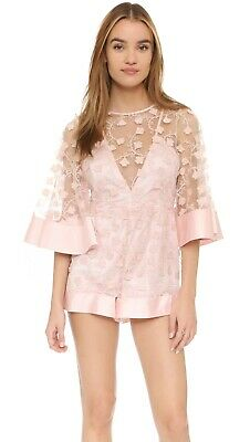 AU188 • Buy Like NEW Alice Mccall Gypsy Eyes Playsuit Pink Size 10