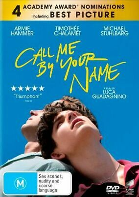 AU15.35 • Buy NEW Call Me By Your Name DVD Free Shipping
