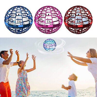 AU36.48 • Buy UFO Flying Ball Hand Operated Induction Drone Toys For Kids Boys Girls