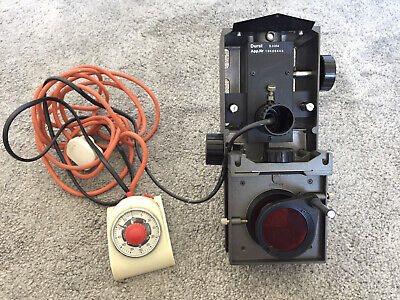 £44.50 • Buy Durst S.0354 Photo Enlarger Head With Red Filter And Timer