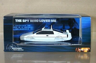 $ CDN44.75 • Buy MINICHAMPS 400 135270 LOTUS ESPRIT S1 SUBMARINE JAMES BOND SPY WHO LOVED ME Nd