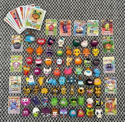 £16 • Buy Moshi Monsters Figures And Trading Cards Bundle Including Plush Toy
