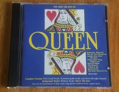 £8.49 • Buy You Sing The Hits Of: QUEEN Karaoke Hits CD With Lyrics Booklet