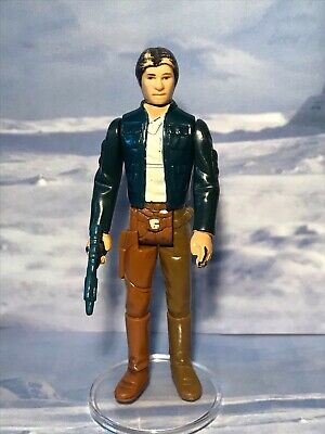 £7 • Buy Vintage Star Wars Figure Han Solo (bespin Outfit) Lfl1980 Coo Hong Kong
