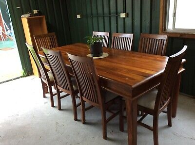 AU1020 • Buy Formal Dining Table With 8 Chairs