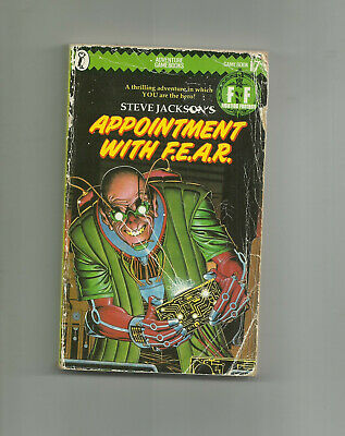 AU12.51 • Buy PUFFIN - FIGHTING FANTASY GAME BOOK #17, APPOINTMENT WITH F.E.A.R. (1st Ed 1985)