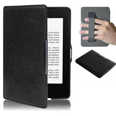 AU15.70 • Buy For Kindle Paperwhite 1/2/3 New PU Leather Magnet Smart Case Cover Strap