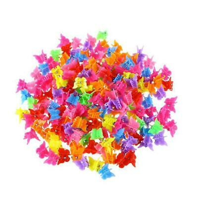 $ CDN3.83 • Buy 20/50/100Pcs Hair Claws Butterfly Hair Clips For Kids Be Mini Baby Hairpins Best