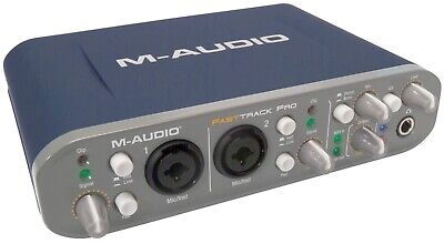 $89.73 • Buy M-audio Fast Track Pro - USB Audio Interface - Super Fast Delivery