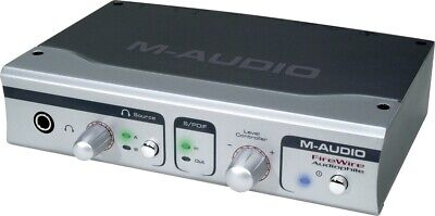 $55.21 • Buy M-Audio FireWire Audiophile Audio And MIDI Interface - Super Fast Delivery