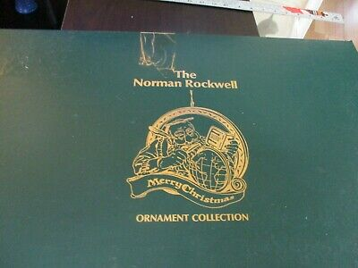$ CDN103.53 • Buy Norman Rockwell Collection Christmas Ornament Box Set Of 25