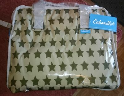 Caboodle Everyday Baby Nappy Changing Bag With Change Mat Fun & Funky - Grey  • 10.99£