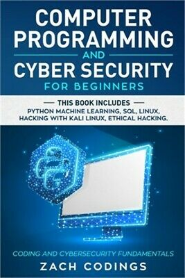 £24.92 • Buy Computer Programming And Cyber Security For Beginners: This Book Includes: Pytho
