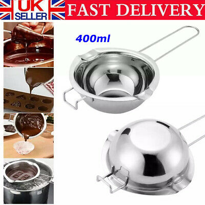 £7.98 • Buy Stainless Steel Chocolate Butter Wax Melting Pot Pan Double Boiler Baking Tool
