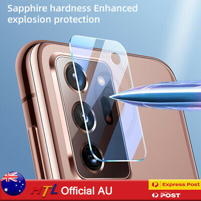 AU3.95 • Buy Samsung Galaxy S20 S21 Note 20 Ultra Camera Lens Tempered Glass Screen Protector