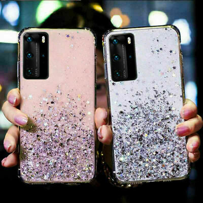AU9.98 • Buy For Samsung Galaxy S20 FE S21 Ultra S10 Shockproof Bling Glitter Soft Case Cover