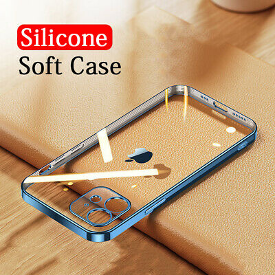 AU6.99 • Buy For IPhone 12 11 Pro Max XS XR X 8 7 Plus Shockproof Soft Slim Clear Case Cover