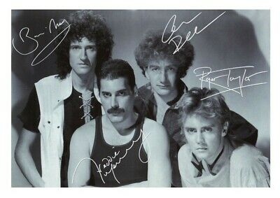 £6.90 • Buy (#166)  Queen Freddie Mercury Signed  A4 Photo//framed (reprint) Great Gift ++