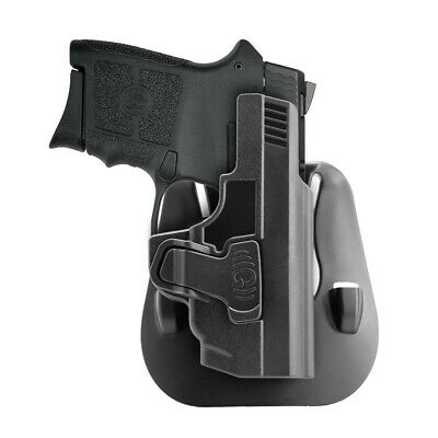 $21.90 • Buy OWB Holster For S&W M&P Bodyguard 380 Open Carry 60° Adj Rapid Release Right