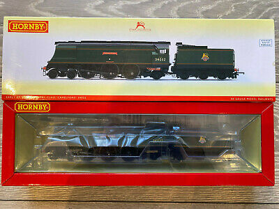 Hornby R3445 BR Early Emblem 4-6-2 West Country Class 'Camelford'  - NEW UNUSED • 159.99£