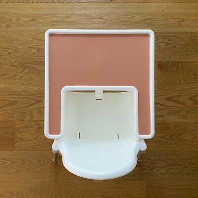£15 • Buy IKEA Highchair Placemat Insert   Sunset Coral   Silicone Antilop High Chair Mat