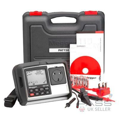 £567 • Buy Megger PAT150 Hand Held Portable Appliance PAT Tester With RCD Testing