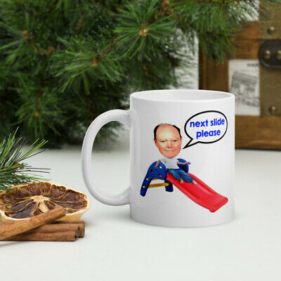 £9 • Buy Chris Whitty Next Slide Please Mug Coffee Cup Funny Gift Him Her