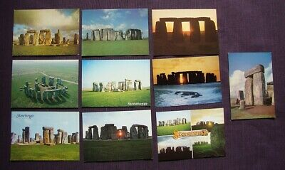 19 Different Stonehenge Standing Stone Modern Postcards  • 7.99£