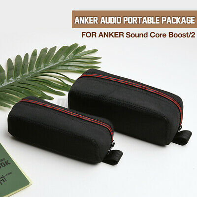 AU17.45 • Buy Portable Hard Zipper Carrying Case Cover Bag For ANKER Sound Core 1 & 2  Oo
