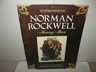 $ CDN5.66 • Buy Norman Rockwell Memory Album Book. Vol 1 #1 1979  By The Saturday Evening Post