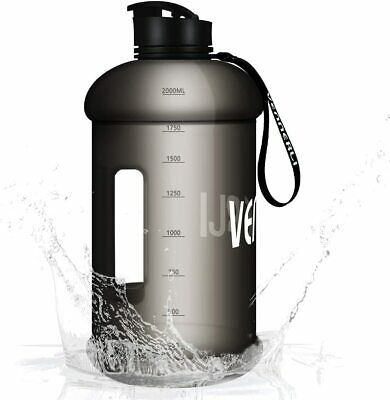 £16.99 • Buy Water Bottle 2.2 Litres Leak Proof BPA Free Durable Gym Jug With Handle Flip Cap