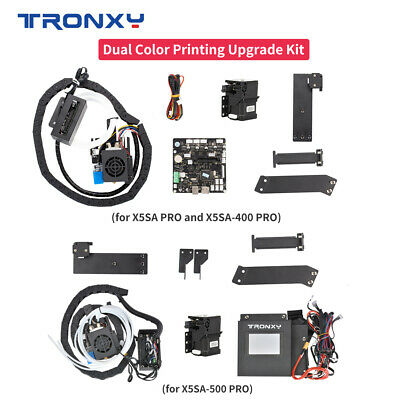 AU180.95 • Buy Tronxy Dual Color Upgrade Kit For X5SA Pro/X5SA-400 Pro/X5SA-500 Pro 2 In 1 Out