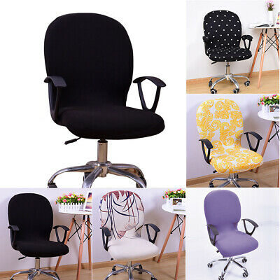 AU11.75 • Buy Study Office Armchair Computer Swivel Rotating Desk Chair Cover Protector Decor