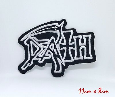£1.99 • Buy Death American Metal Band Iron On Patch Embroidered Logo Heavy Rock Music #828