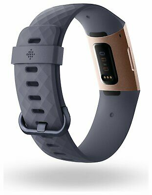 View Details Fitbit Charge 3 Fitness Tracker - Blue / Rose Gold • 92.00£