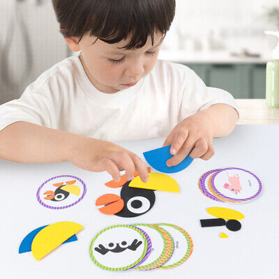 AU9.11 • Buy Geometric Puzzle Toys Fun Creative Wooden Animal Puzzle + Free Shape For +3year
